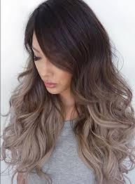 تکنیک آمبره در رنگ مو