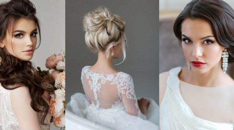 بهترین آرایش و شینیون عروس