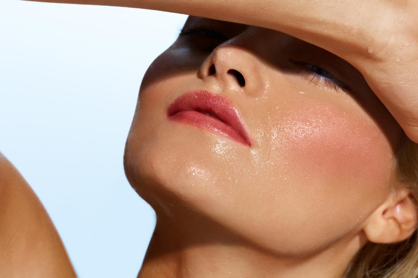 تمیز نگه داشتن آرایش در تابستان